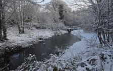 b1 Leighside pond snow